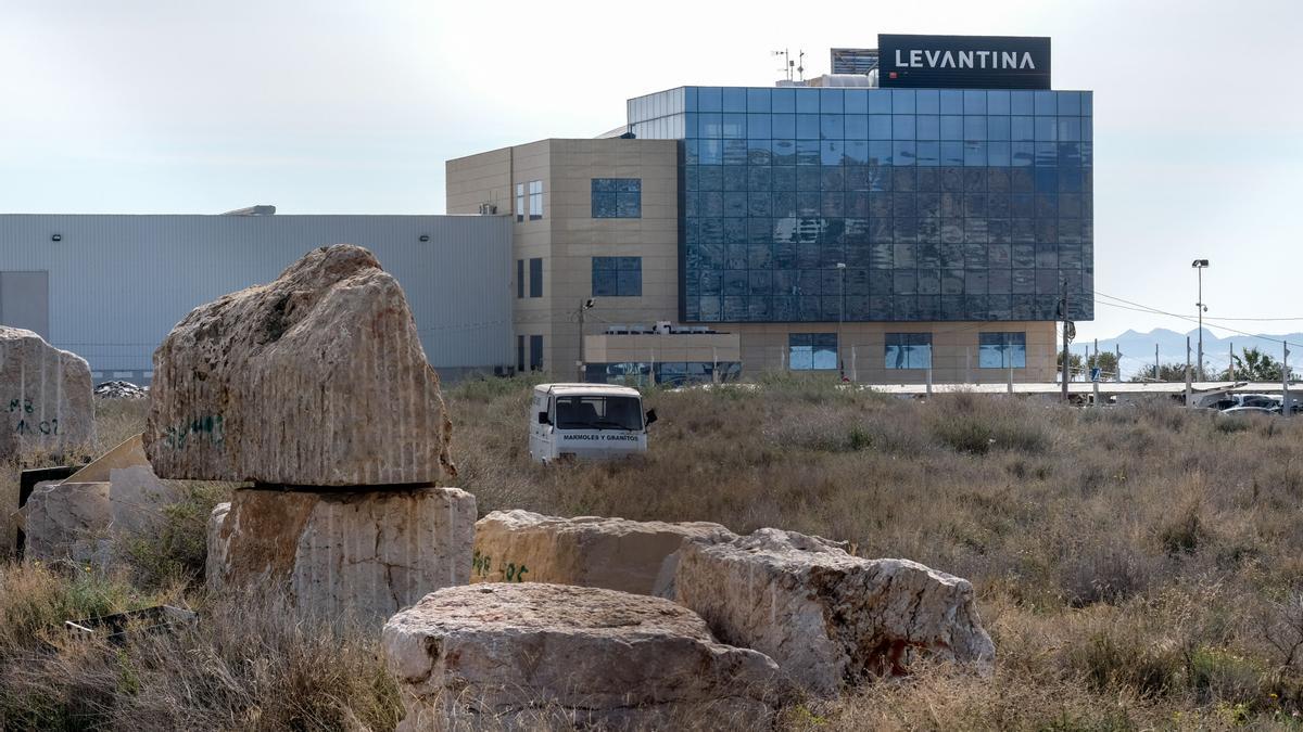 Imagen de archivo de la sede de Levantina en Novelda.