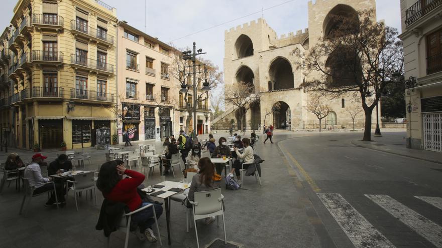 Terrazas de València en el primer fin de semana de apertura