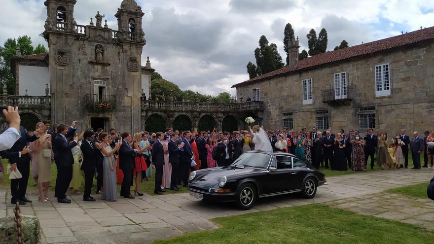 """Las mejores imágenes de la """"boda del año"""" en el Pazo de Oca"""