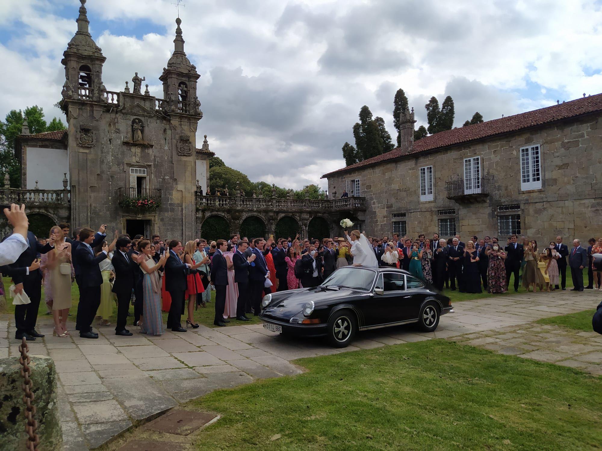 """Las mejores imágenes de la """"boda real"""" en el Pazo de Oca"""