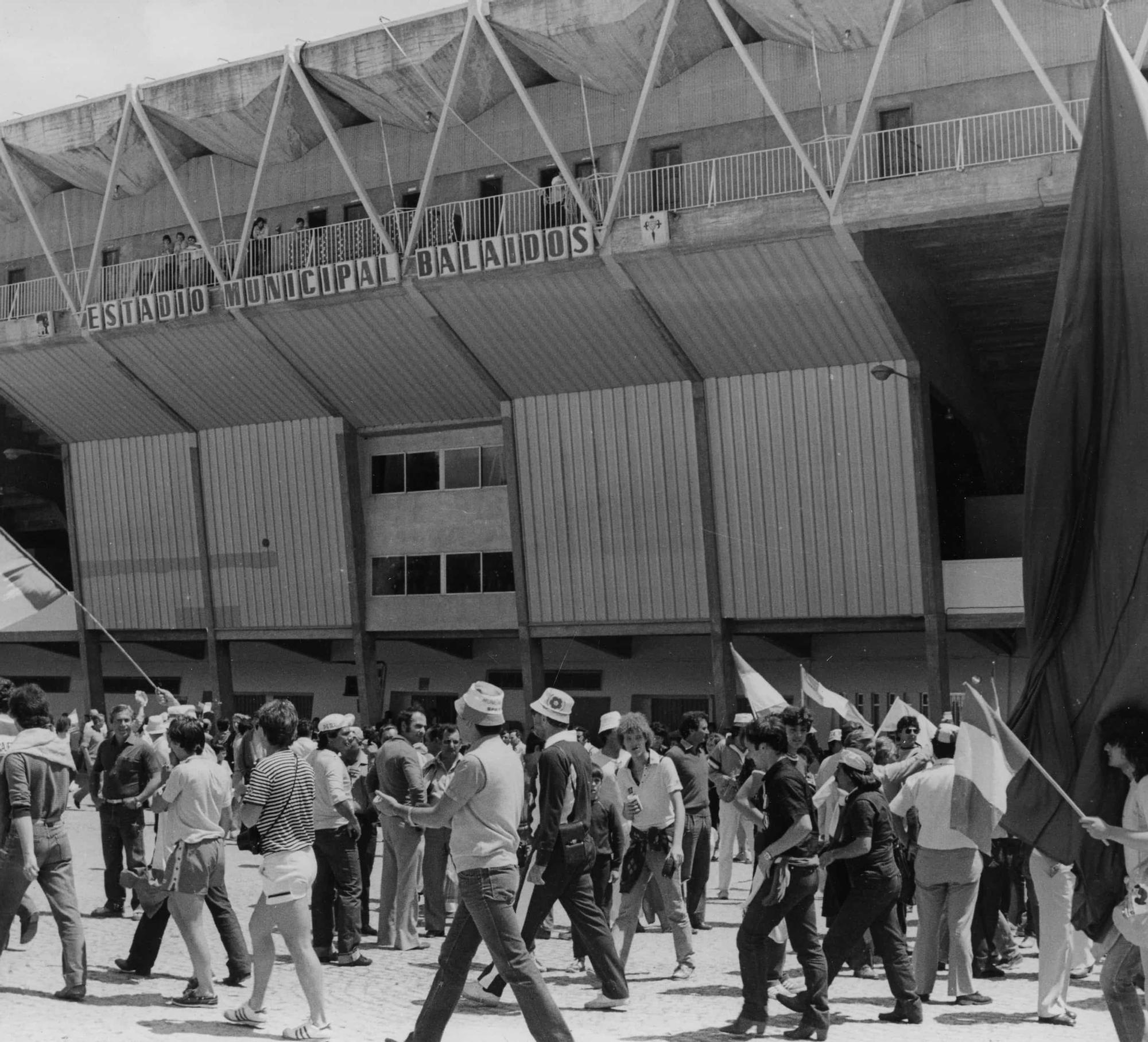 Balaídos, sede del Mundial 82
