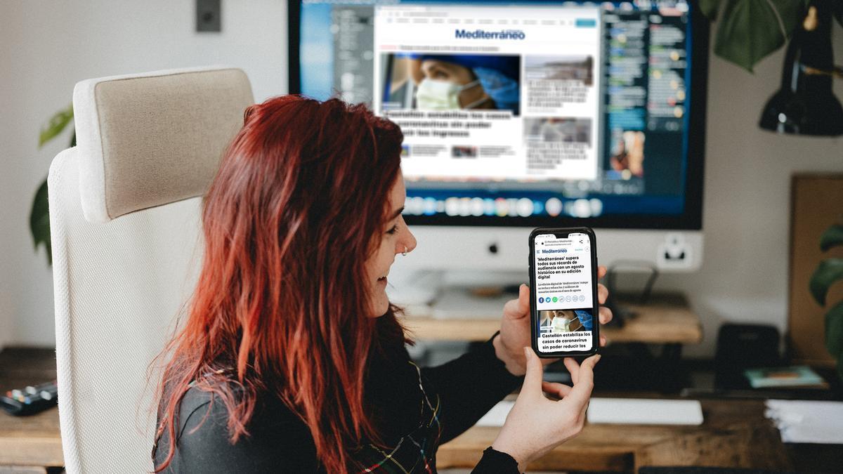 La edición digital de 'Mediterráneo' ha marcado un récord histórico de audiencia en agosto