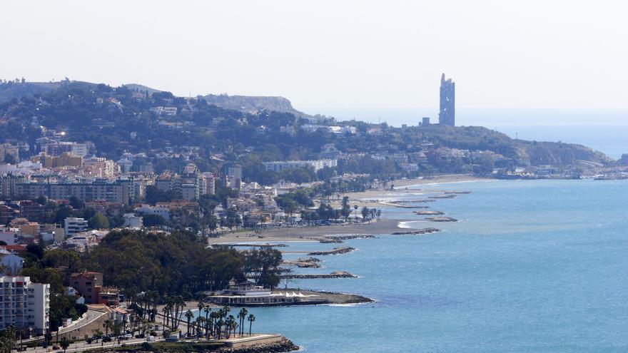 Fallece un hombre de 80 años en la playa de El Palo