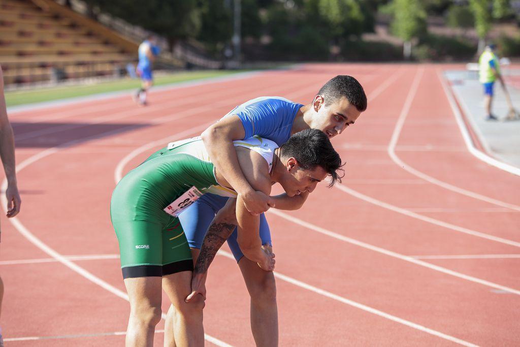 Campeonato regional de atletismo: segunda jornada