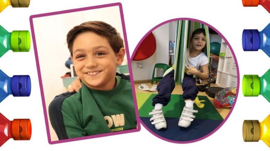 Un niño de nueve años con una enfermedad rara necesita un vehículo especial