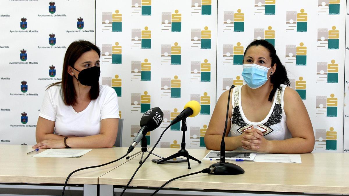 Inmaculada Mesa y Lola Casado presentan la iniciativa.