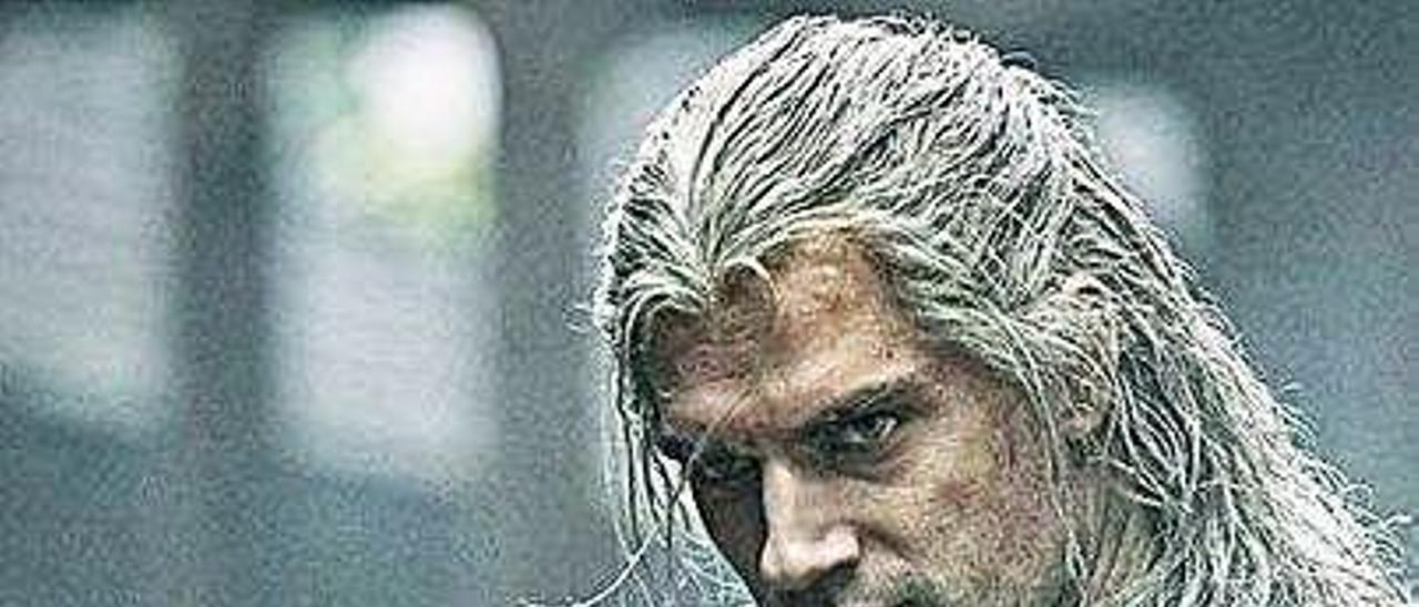 """Henry Cavill en """"The Witcher"""". Netflix"""