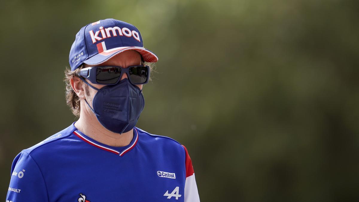 El piloto español de F1 Fernando Alonso.