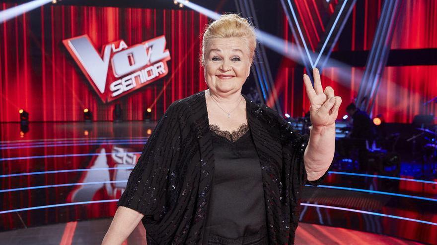 Naida Abanovich, de cantar en la calle a ganar 'La Voz Senior'