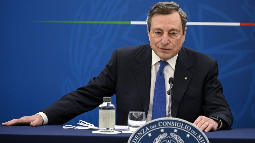 Draghi llama dictador a Erdogan tras el desplante a Von der Leyen