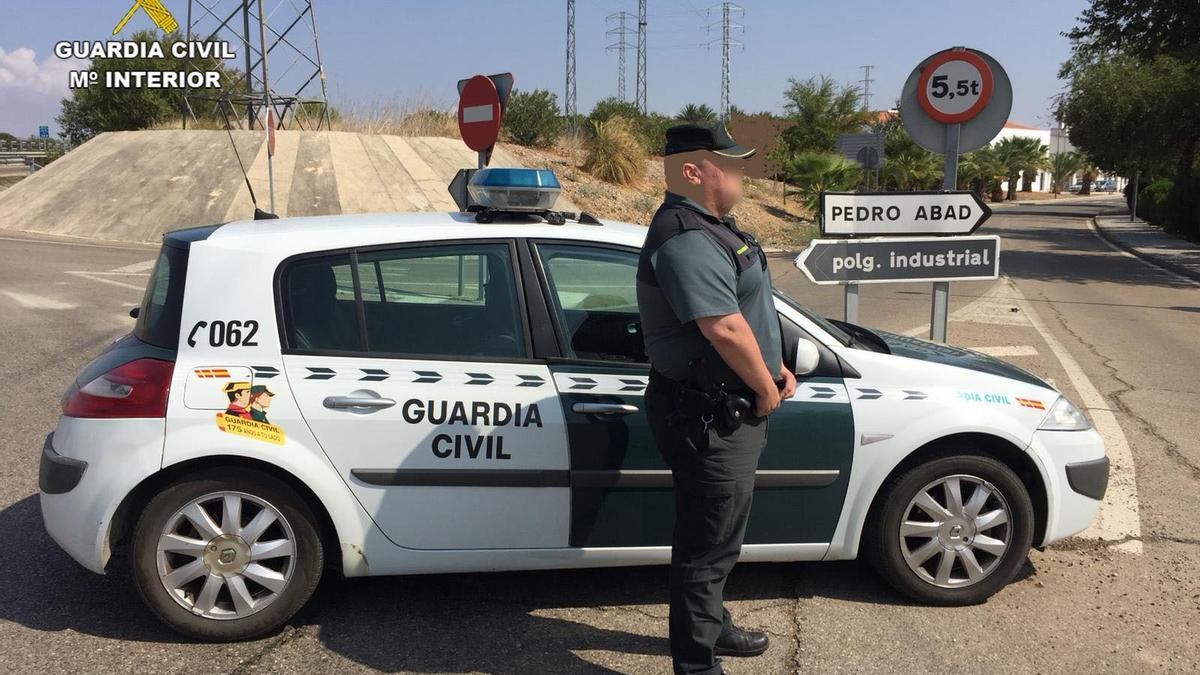 Puesto de la Guardia Civil de El Carpio en Pedro Abad.