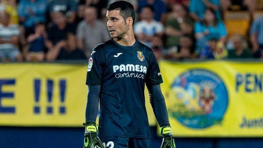 El traspaso de Andrés Fernández deja 'solo' a Asenjo en la portería del Villarreal