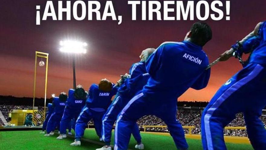 El Leganés recurre a 'El juego del calamar' para promocionar su duelo contra el Tenerife