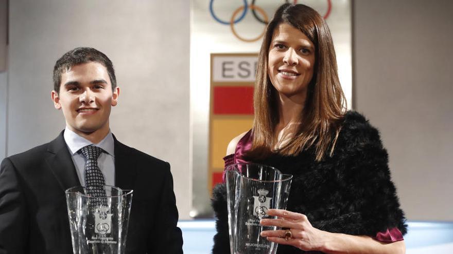 Beitia y Hortelano, mejores atletas españoles de 2016