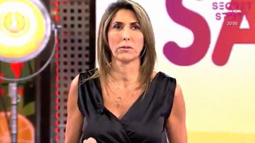 """Paz Padilla hace un desafortunado comentario en 'Sálvame' sobre abusos sexuales: """"Se ha malinterpretado"""""""