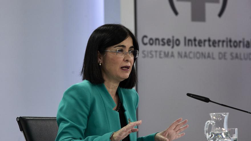 """Darias: """"La Comisión de Salud dará el viernes alguna pauta sobre los menores de 60 que han recibido una dosis de AstraZeneca"""""""