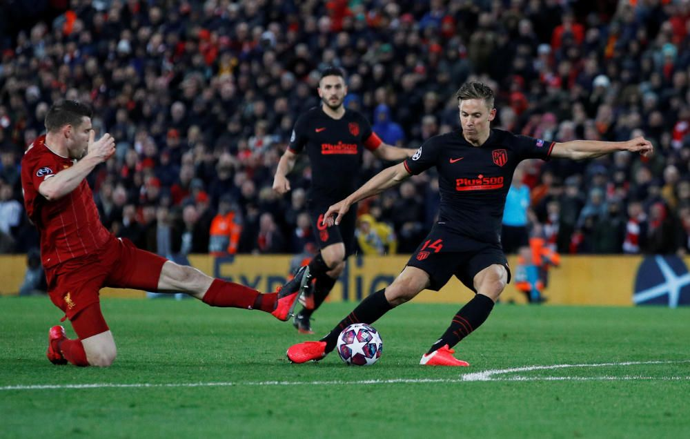 Champions League: Liverpool - Atlético de Madrid.