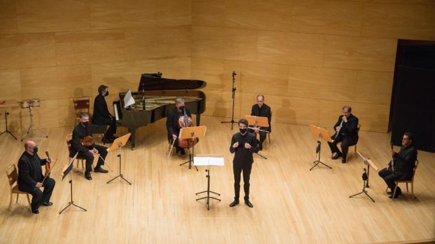 Orquesta de Cámara del Auditorio de Zaragoza Enigma. 'Imágenes'