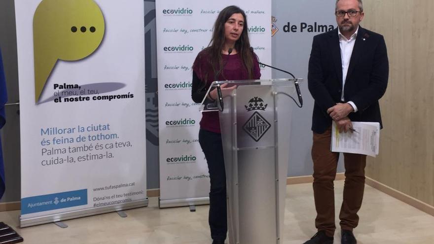 Campaña para reciclar más vidrio en unos 300 bares y restaurantes de Palma