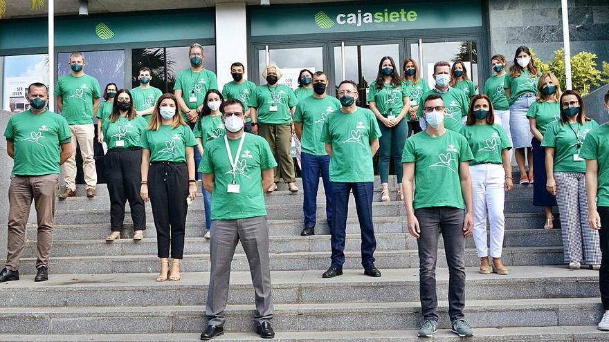 Cajasiete celebró el día Solidario del Grupo Caja Rural y Seguros RGA