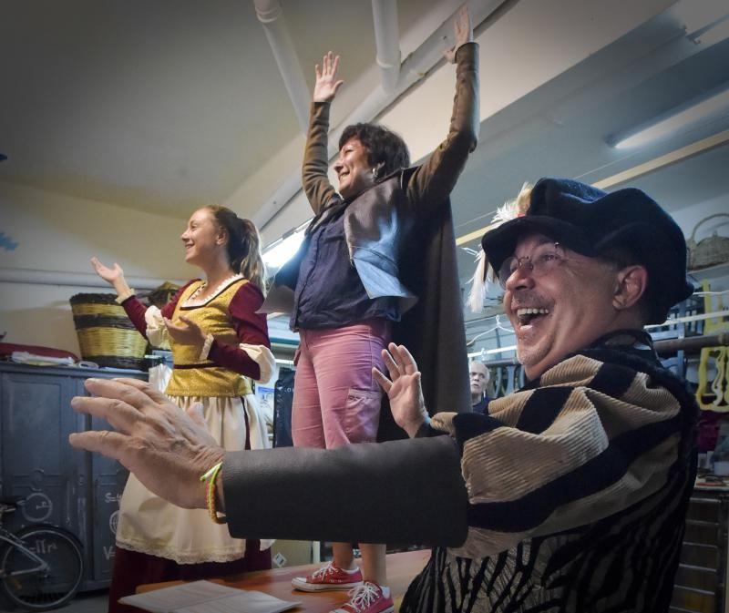 Ensayo de 'Anansi, una historia real', de Profetas de Mueble Bar