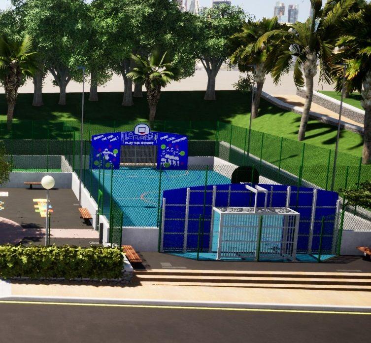 Presentación del nuevo parque deportivo de La Orotava