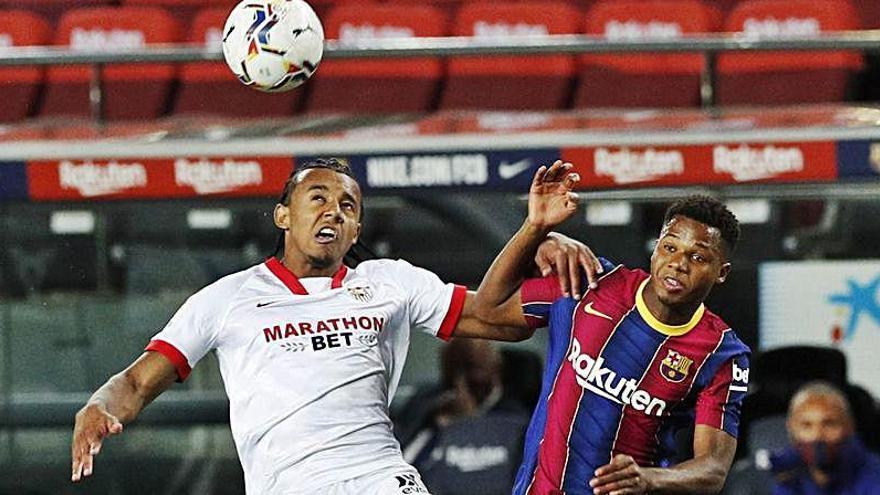 Koundé se declara en rebeldía para abandonar el Sevilla