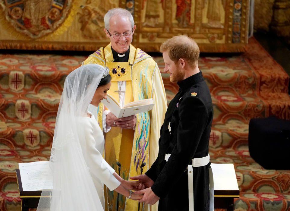 El príncipe Harry y Meghan Markle, marido y mujer