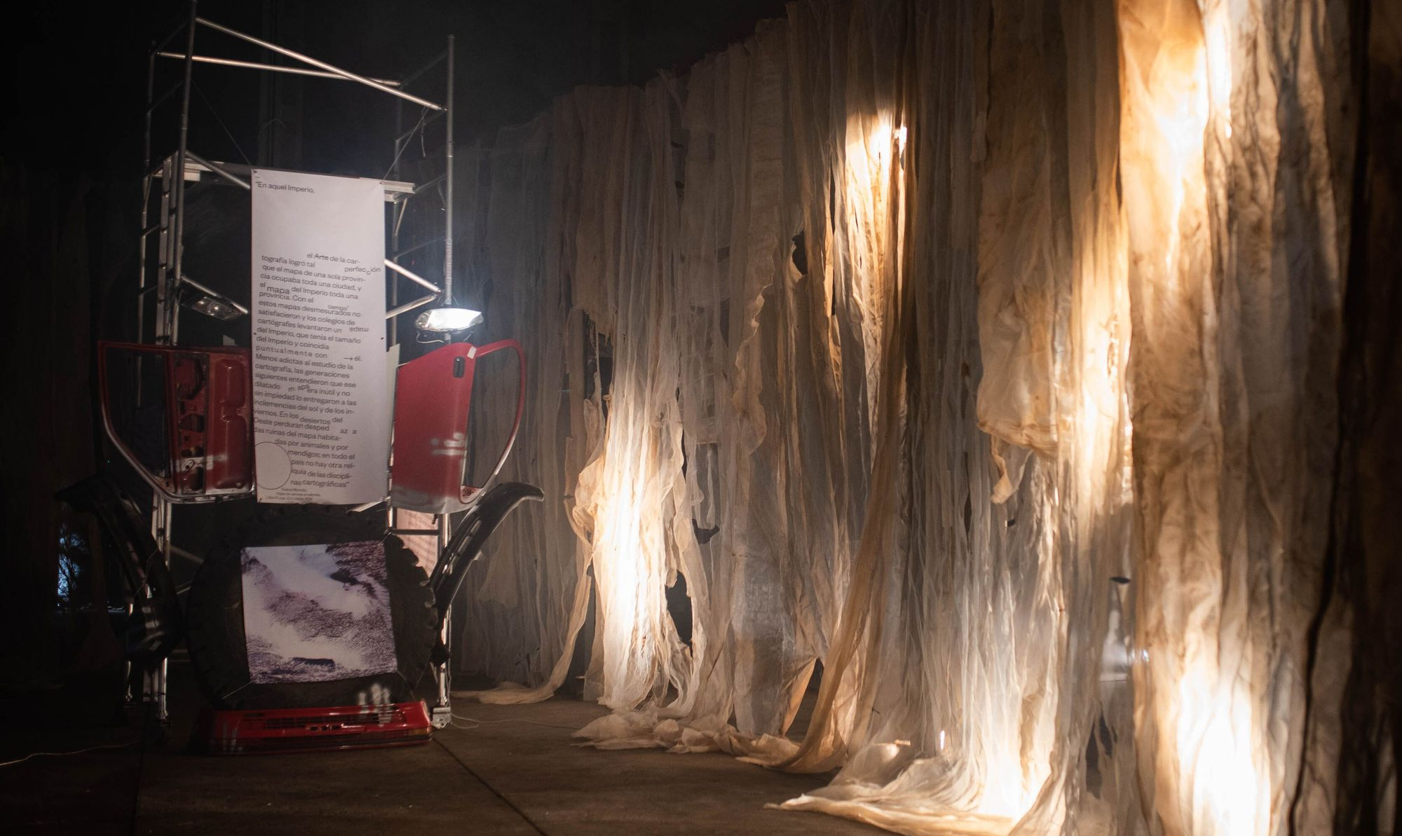 Exposición de Yosu Negrín en el Espacio Cultural El Tanque