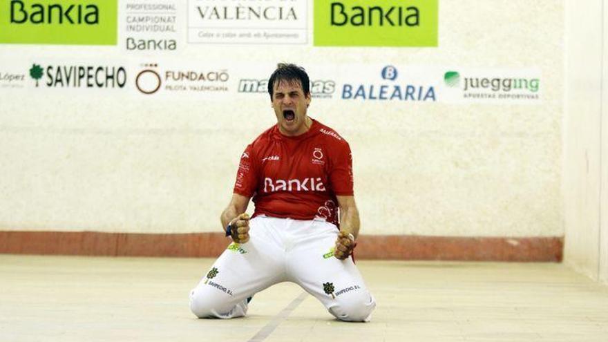 Un referente de la pilota valenciana jugará este viernes en Vila-real