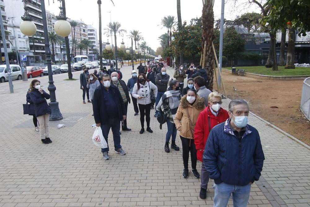 Cribado contra el coronavirus en Córdoba