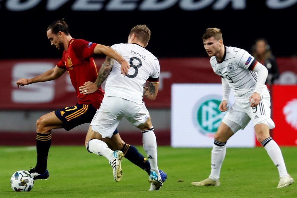 Liga de Naciones: España - Alemania