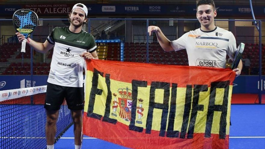 Javi Garrido y Alba Izquierdo logran dos espectaculares victorias y pasan a los octavos