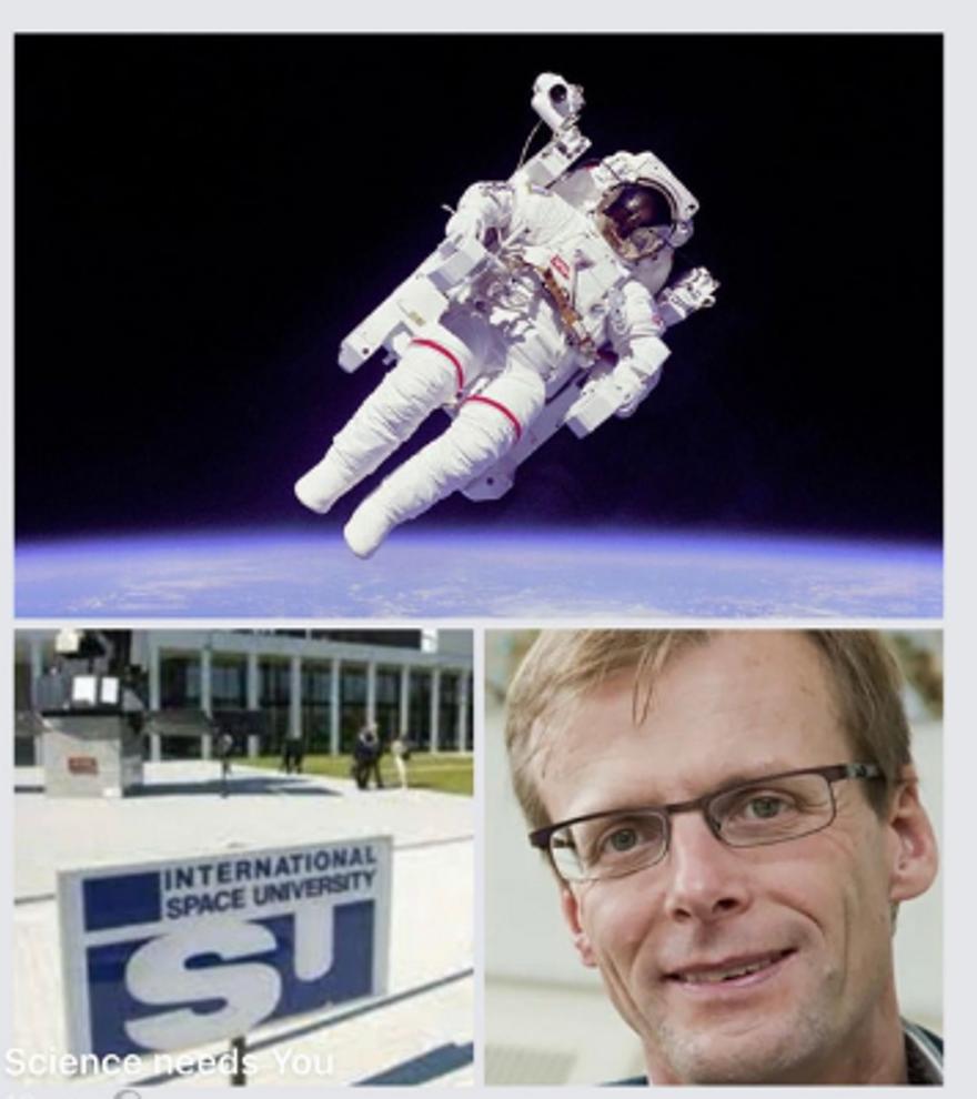 Inauguració de l'exposició L'exploració de l'espai: Els somnis com a base del coneixement