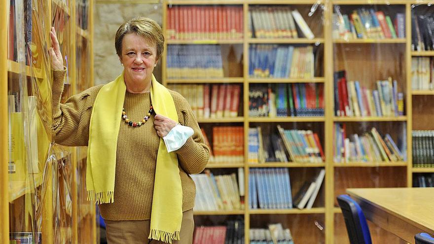 """""""Fui muy feliz estos 37 años de bibliotecaria. Vi crecer a generaciones"""""""