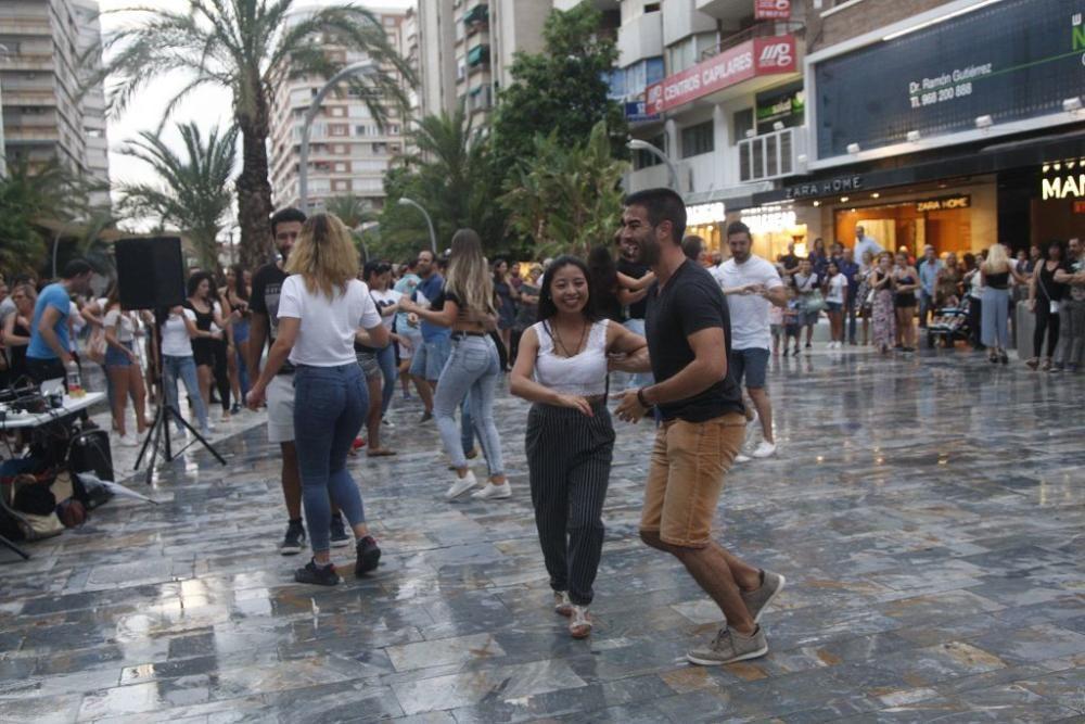Taller de salsa en la Feria de Murcia