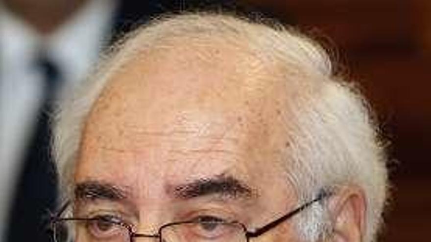 Muere el senador Vicente Álvarez Areces, expresidente del Principado de Asturias