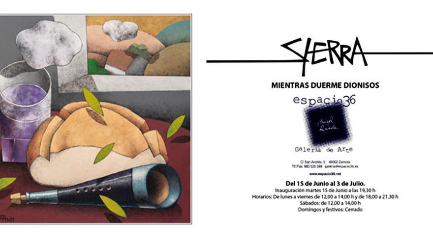 Sierra - Mientras duerme Dionisos
