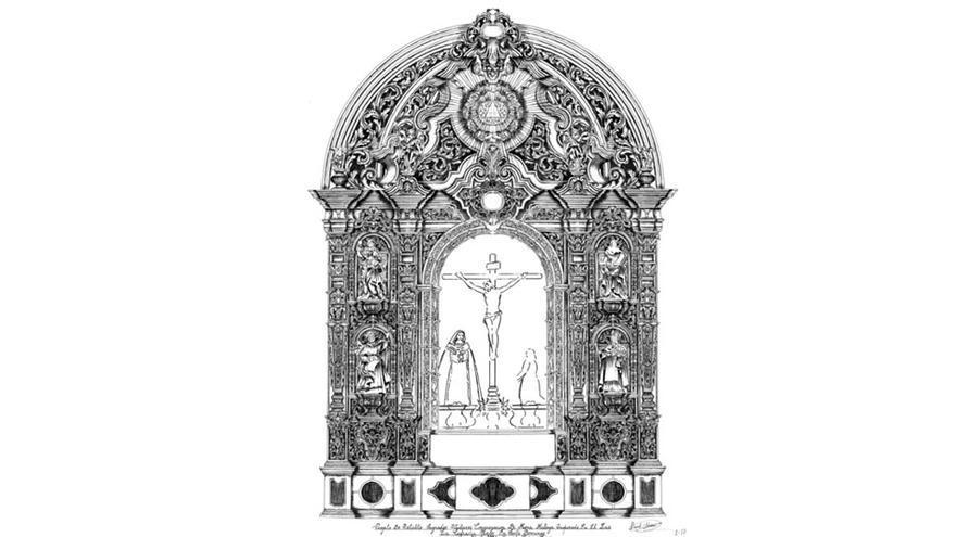 Mena aprueba el proyecto de ejecución de un nuevo retablo para la capilla