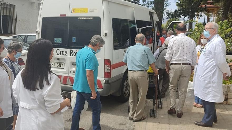 La Junta culmina el regreso de los últimos 48 vecinos realojados en Ronda por el incendio