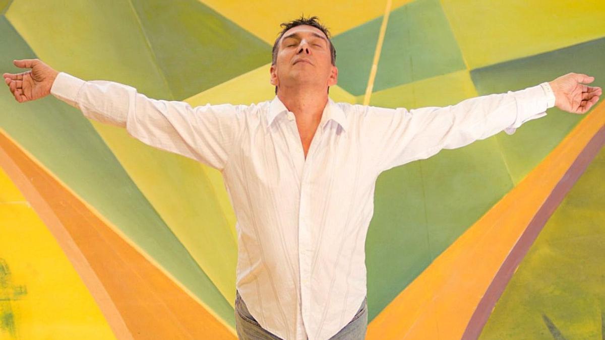 Julio Bocca, en un momento de concentración.   | // LEO BARIZZONI