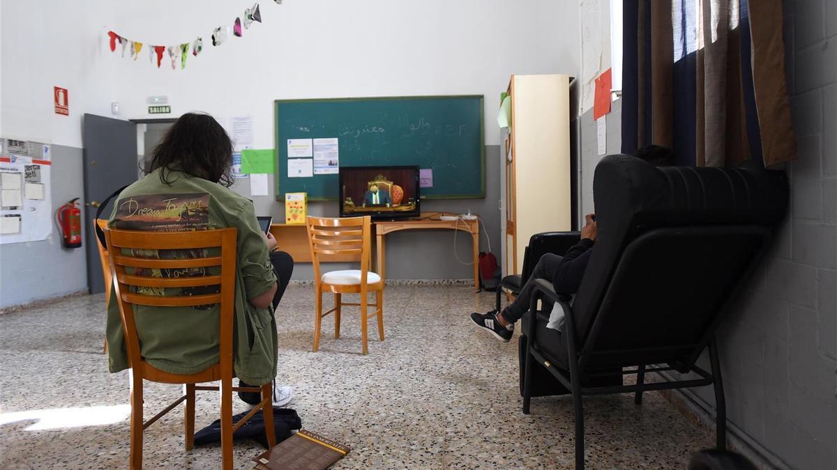 Imagen del comedor en la Casa Libertad de la Fundación Prolibertas.