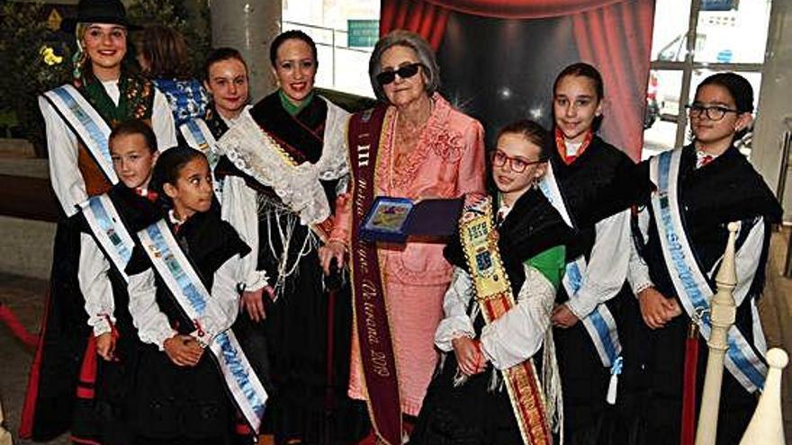 María del Carmen Castro, proclamada tercera Meiga Mayor Veterana