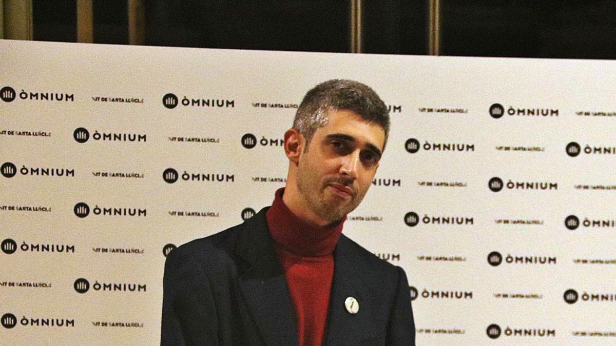 Víctor García Tur va rebre un dels guardons més reconeguts de les lletres catalanes | ARXIU/PERE CORTINA (ACN)