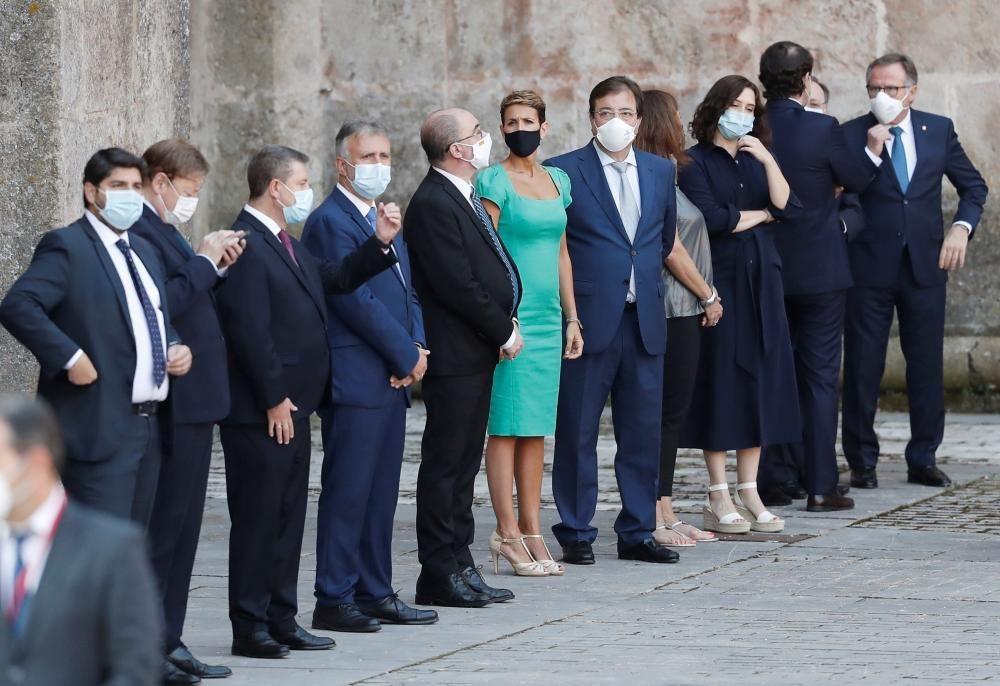 Las imágenes de la Conferencia de Presidentes.