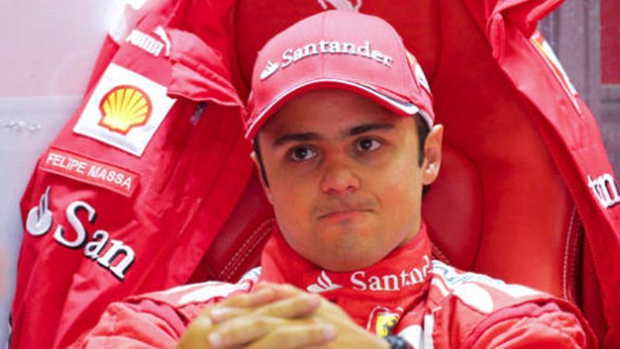 Massa seguirá en Ferrari en 2013