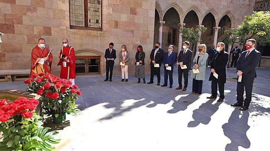El Govern recupera  activitats presencials en la celebració de Sant Jordi