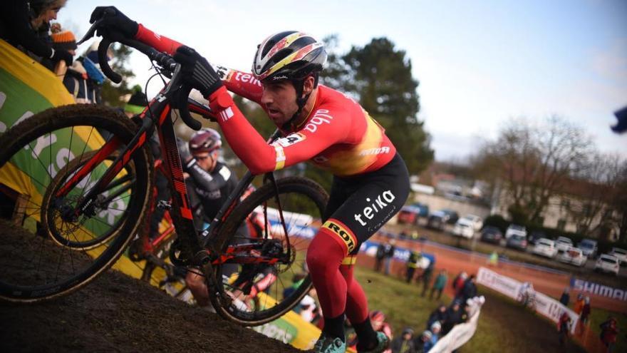 Fantástico séptimo puesto de Felipe Orts en el Kasteelcross de Zonnebeke