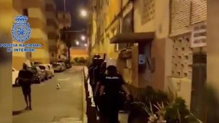 Cae el principal punto de venta de droga en Las Palmas de Gran Canaria (26/08/2021)
