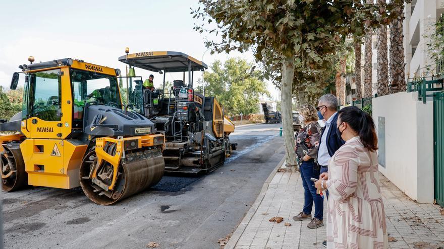 L'Alfàs inicia la renovación del pavimento del Camí Vell d'Altea